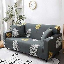 QTSUANNAI Sofa Cover,Dark Khaki Sofa Cover Cotton