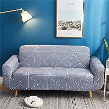 QTSUANNAI Sofa Cover,Gray Elastic Sofa Cover