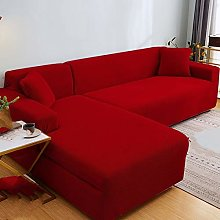 QTSUANNAI Sofa Cover,Knitted Thicken Sofa Covers