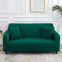 QTSUANNAI Sofa Cover,Solid Color Sofa Covers For