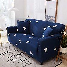 QTSUANNAI Sofa Cover,Triangle Pattern Elastic Sofa