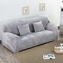 QTSUANNAI Universal Sofa Cover,Thicken Plush