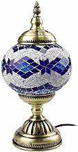 QTWW Handmade Mosaic Table Lamp Turkish Style E27