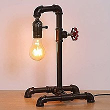 QTWW Retro Table lamp Industrial Steampunk lamp