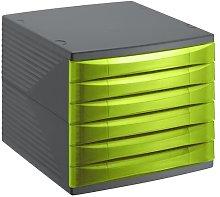 Quadra Desk Organiser Rotho Colour: Green