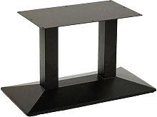Quadric Cast Twin Pedestal Commercial Bar Table