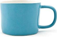 Quail's Egg - Ceramic Mug in Petrol Blue