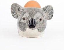 Quail Ceramics - 7.5cm Koala Egg Cup - grey -