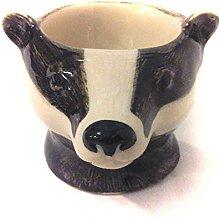 Quail Ceramics - Badger Face Egg Cup