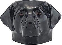 Quail Ceramics Black Labrador Face Egg Cup