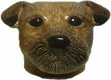 Quail Ceramics - Border Terrier Face Egg Cup