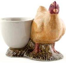 Quail Ceramics - Buff Orpington Hen Egg Cup