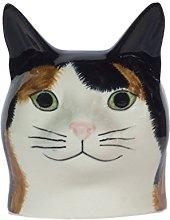 Quail Ceramics - Cat Face Egg Cup - Eleanor (tabby
