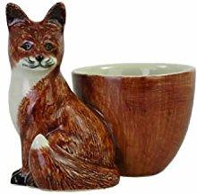 Quail Ceramics Fox Design Egg Cup
