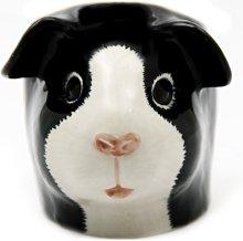 Quail Ceramics - Guinea Pig Face Egg Cup - Black