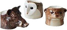 Quail Ceramics - Hand Painted British Animal Egg