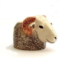 Quail Ceramics - Herdwick Sheep Face Egg Cup