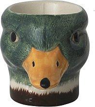 Quail Ceramics - Mallard Duck Face Egg Cup