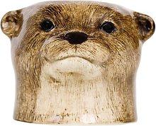 Quail Ceramics - Otter Face Egg Cup