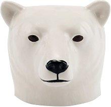 Quail Ceramics - Polar Bear Face Egg Cup