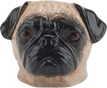 Quail Ceramics - Pug Face Egg Cup - Fawn