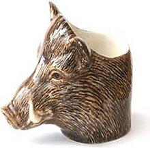 Quail Ceramics - Wild Boar Face Egg Cup