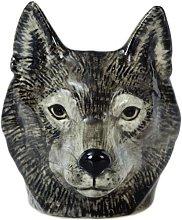 Quail Ceramics - Wolf Face Egg Cup