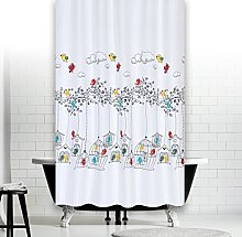 Quality Extra Long Polyester Fabric Bathroom