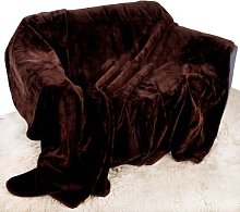 Quality Linen and Towels Chocolate Brown Mink