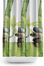 Quality Polyester Fabric Bathroom Shower Curtain -