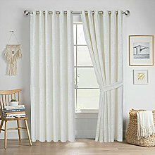 Quality Readymade Fully Lined Jacquard Curtain
