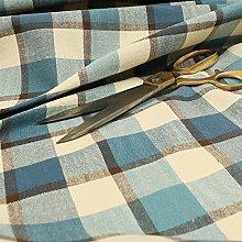 Quality Scottish Tartan Pattern Chenille Curtain