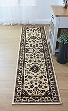Quality Traditional Classic Beige Rug, Runner
