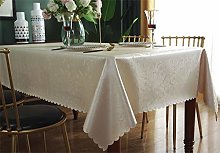 Qualsen Square Tablecloth, Heavy Duty Wipe Clean