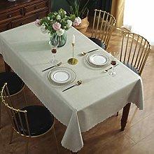 Qualsen Table Cloth Wipeable Rectangular