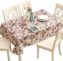 Qualsen Table Cloths Rectangular Wipe Clean Heavy
