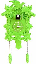 Quartz cuckoo clock Black Forest house with cuckoo