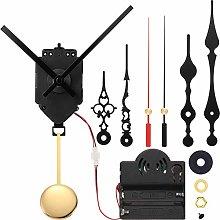 Quartz Pendulum Trigger Clock Movement Animal