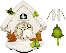 Quata Cute Bird Wall Clock Cuckoo Alarm Clock
