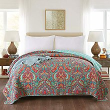 Qucover Paisley Single Bedspreads Lightweight