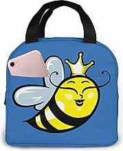 Queen Bee Tote Lunch Bags, Portable Insulated