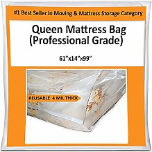 Queen Mattress Bag for Moving Storage Cover - 4
