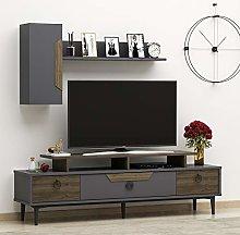 QUEEN Wall Unit - Living Room TV Set - TV Cabinet