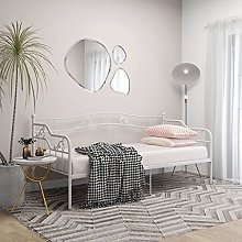 Queen.Y Metal Daybed Frame with Thickened Metal