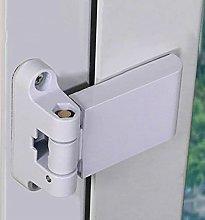 Queenbox Door Security Hinge, PVC & Hardware