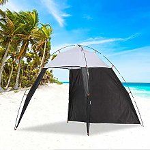 QueenHome Outdoors Canopy Beach Shelter Sun Shade