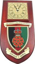 Queens Lancashire Regiment Wall / Mess Clock