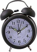 QUERT Double Bells Ringing Alarm Clocks Manual