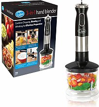 Quest 35099 3 in 1 Stick Blender with Variable