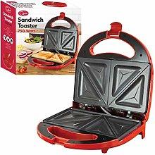 Quest 35149 Sandwich Toastie Maker   Red   750W